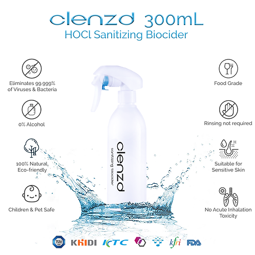Clenzd Sanitizing Spray 300ml