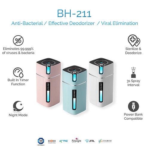 BH-211 Atomizer +Free 500ml Clenzd