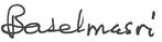 Basel Masri signature.png