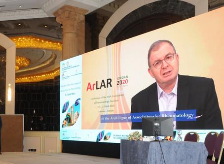 المؤتمر السنوي لجمعية اطباء المفاصل والروماتيزم اللبنانية
