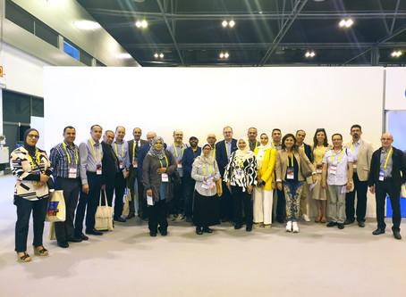 الرابطة العربية لجمعيات الروماتيزم المختلفة في  مؤتمر الرابطة الأوربية  eular في مدريد