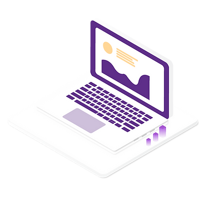 —Pngtree—2.5d laptop graphic design element_4045095.png