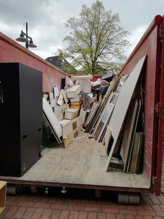 Container für Entrümpelungen Seelze