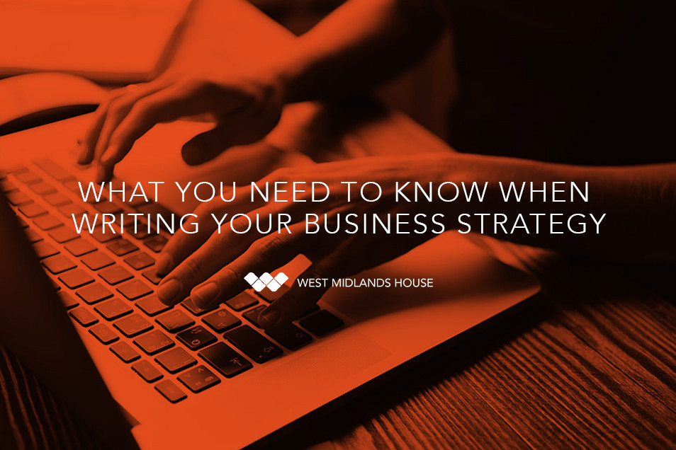 How to write your Business Strategy!