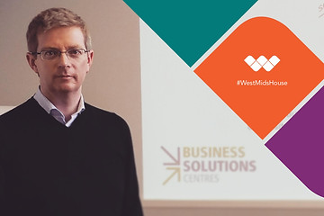 Stuart Holmes of the Business Solutions Centres