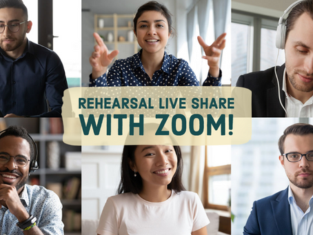 Sharing your RLS session through Zoom