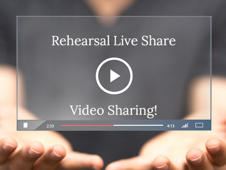Capture Individual Videos Of Your Rehearsal Participants