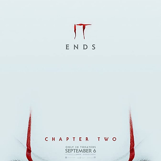 It: Chapter 2 - Ends  (R) @ 8:30PM