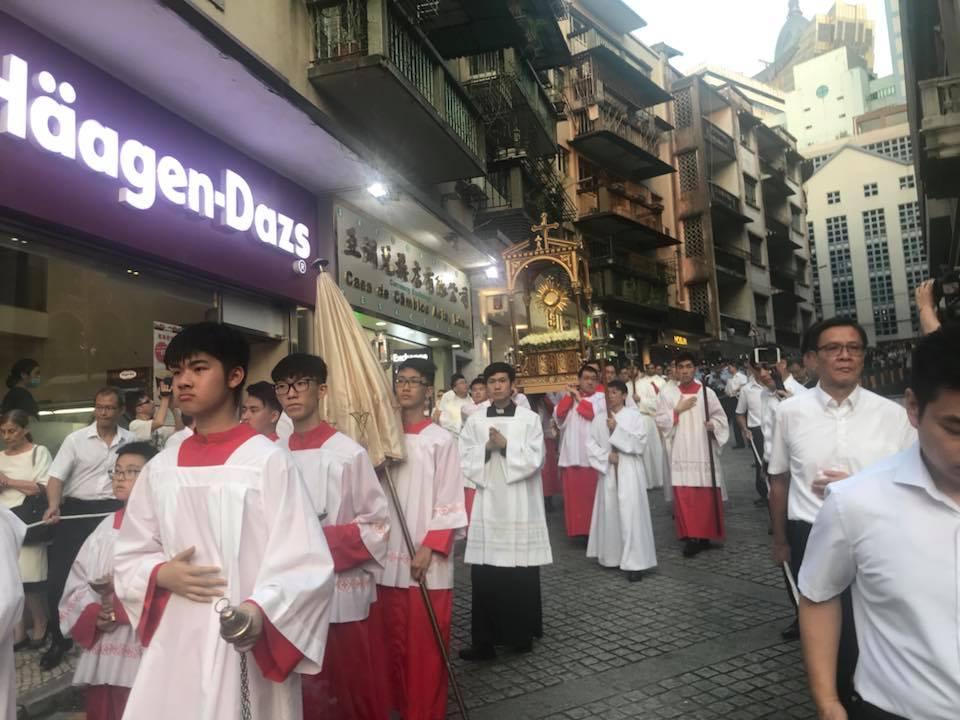 2018 教區慶祝基督聖體聖血節