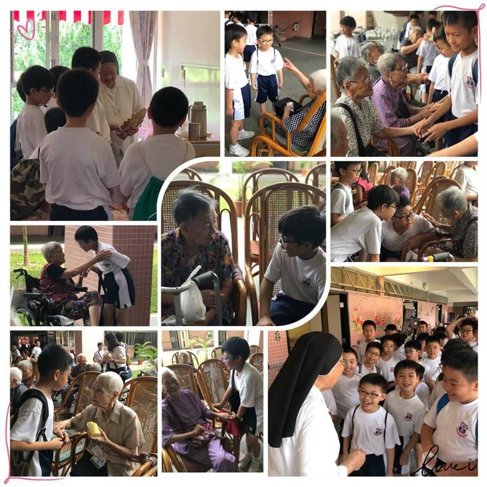 2018 小學學生探訪安老院 