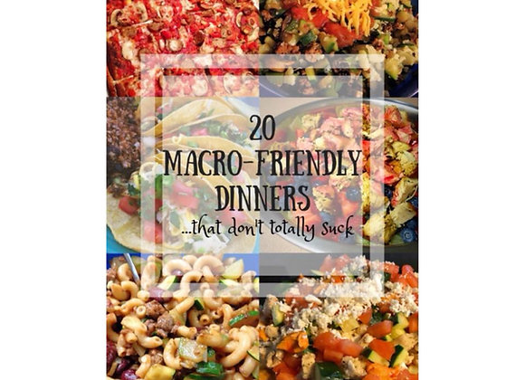 Macro-Friendly Cookbook