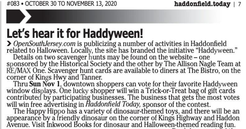 haddyween in haddonfield today .png