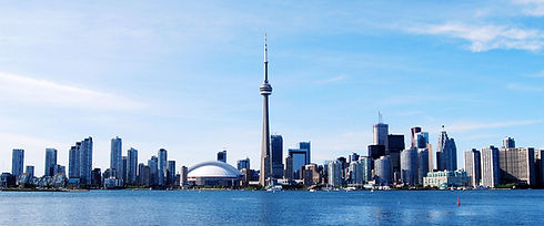 Toronto city view