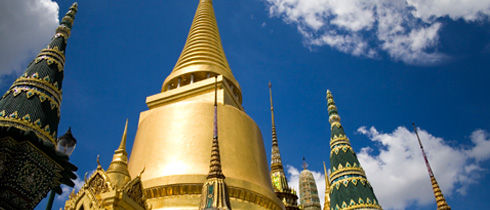 Thailand historic building