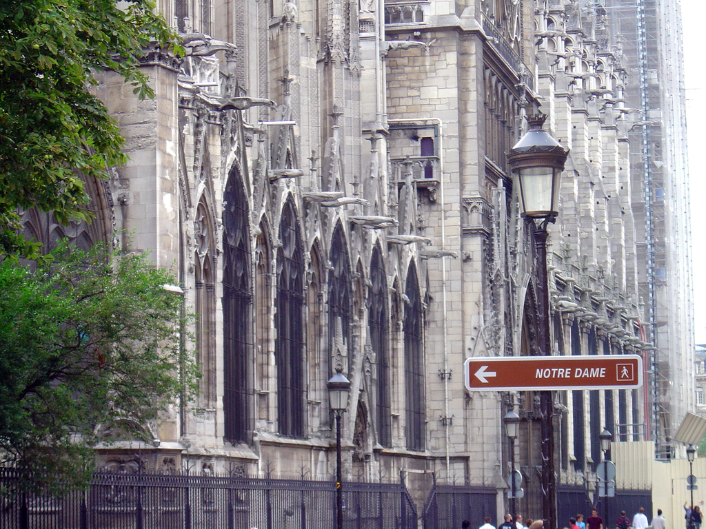 France Paris Notre Dame