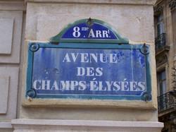 France Paris Champs-Elysees