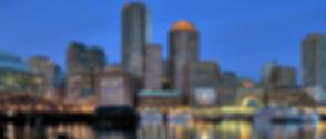 Boston city view