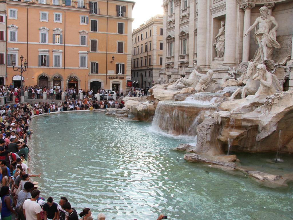 Italy Rome Trevi