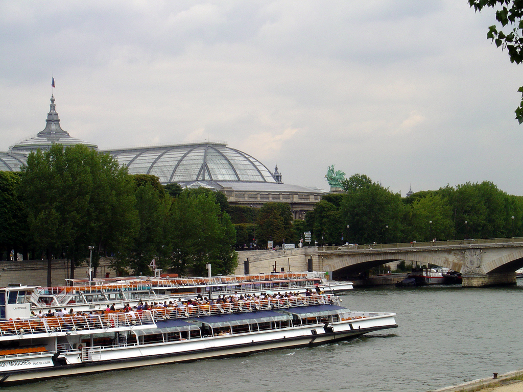 France Paris Seine River