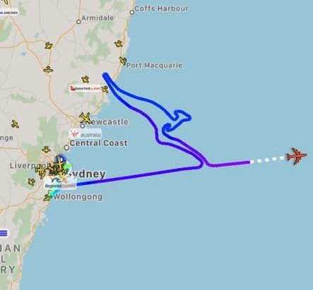Goodbye to Qantas Boeing 747