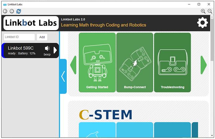 Linkbot Labs screenshot.png