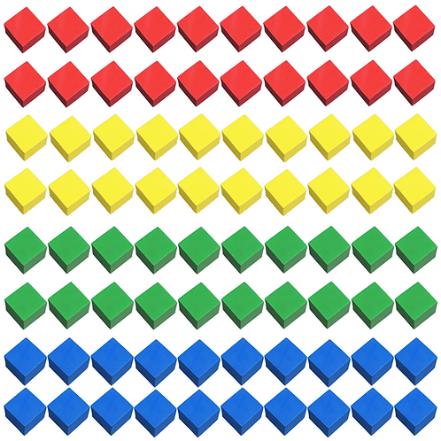 80 Foam Cubes