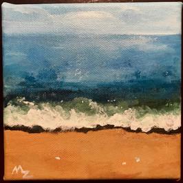 Florida beach - acrylic 5 by 5.jpg