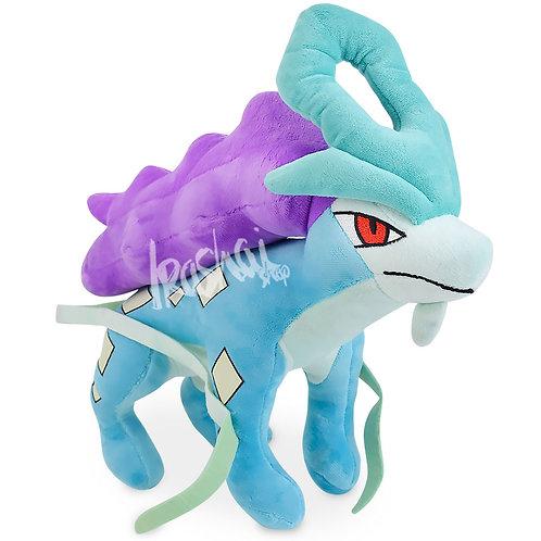 Pelúcia Suicune - Pelúcia Pokémon