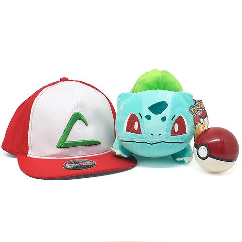Kit Treinador Pokémon Bulbasaur