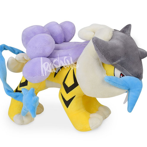 Pelúcia Raikou – Pelúcia Pokémon