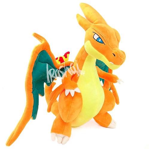 Pelúcia Mega Charizard Y – Pelúcia Pokémon