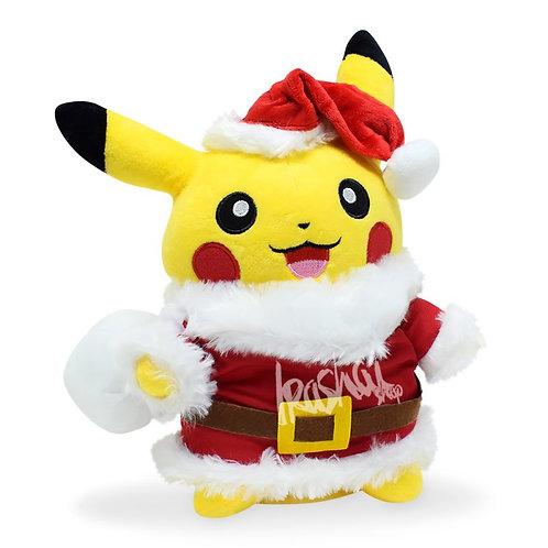 Pelúcia Pikachu Noel - Pelúcia Pokémon