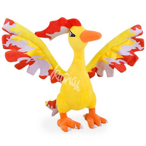Pelúcia Moltres – Pelúcia Pokémon
