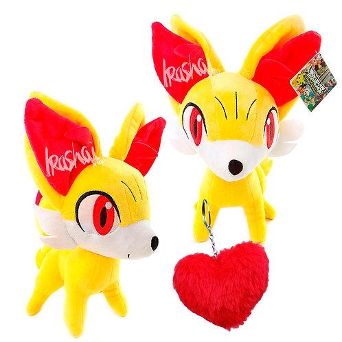 Combo Dia dos Namorados Pokémon Pelúcia Fennekin