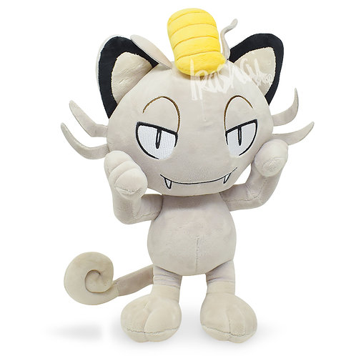 Pelúcia Alola Meowth - Pelúcia Pokémon