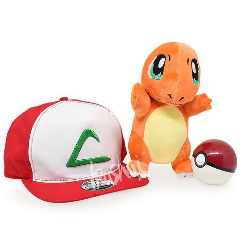 Kit Treinador Pokémon Charmander +Brinde