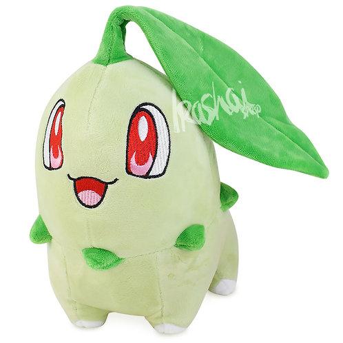 Pelúcia Chikorita - Pelúcia Pokémon