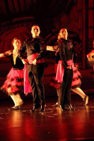 Latin dance Nutcracker