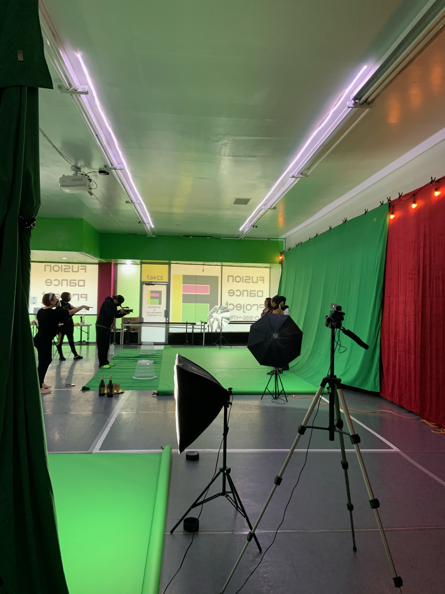 Nutcracker filming day 2020