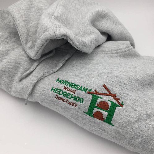 Classic Hooded Sweatshirt - Embroidered Logo