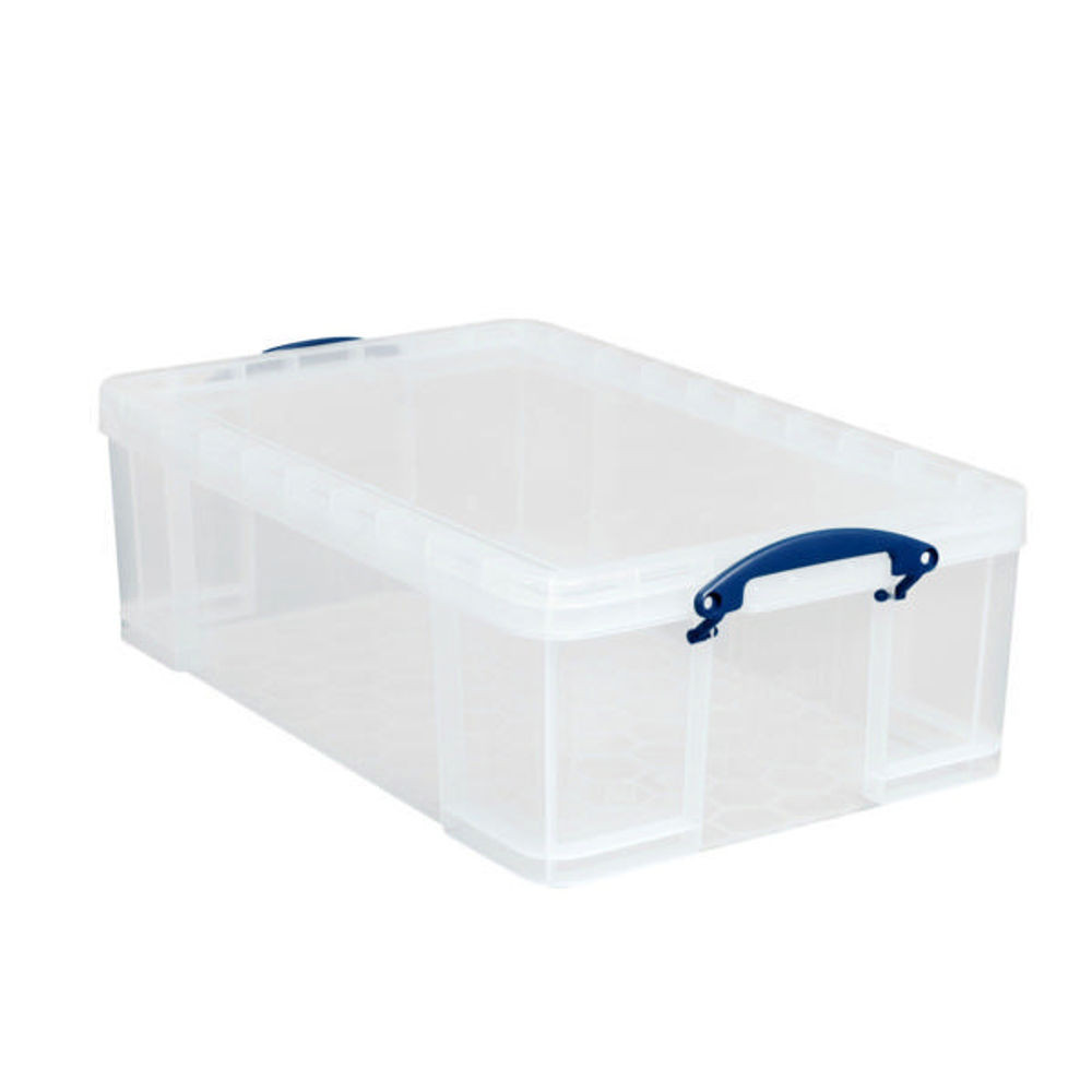 Really Useful Box 64 Litre Clear Storage Box