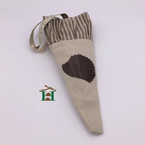 Hedgehog Small Soft Hanging Bag