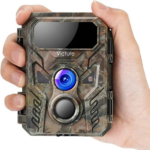 Victure Wildlife Hedgehog Camera IR 16MP 1080P IP66 inc Batteries & 16GB MicroSD