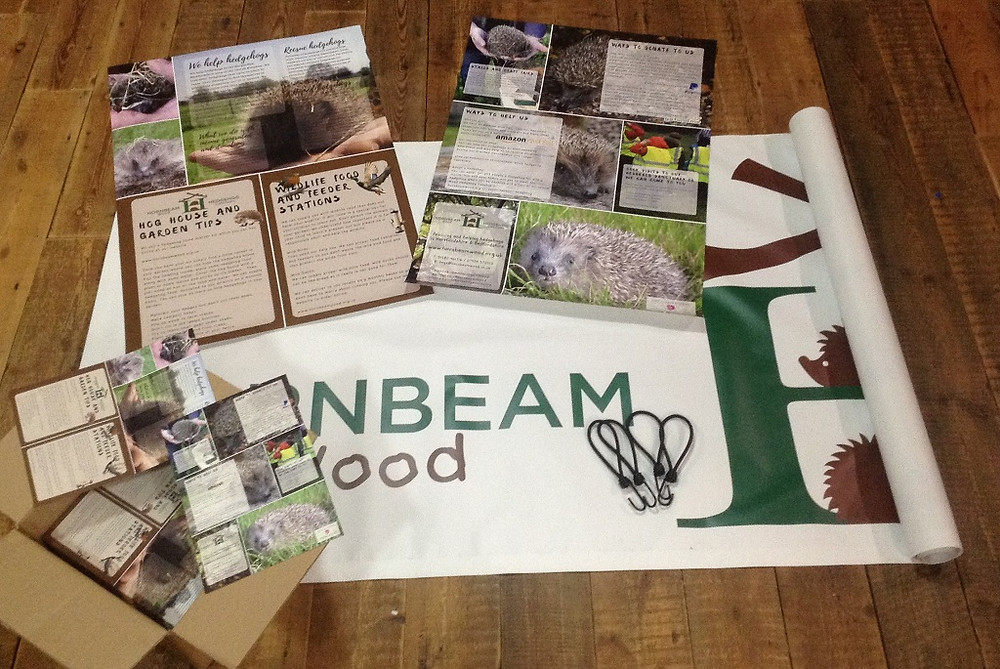 Hornbeam Wood Hedgehog Sanctuary Leaflets