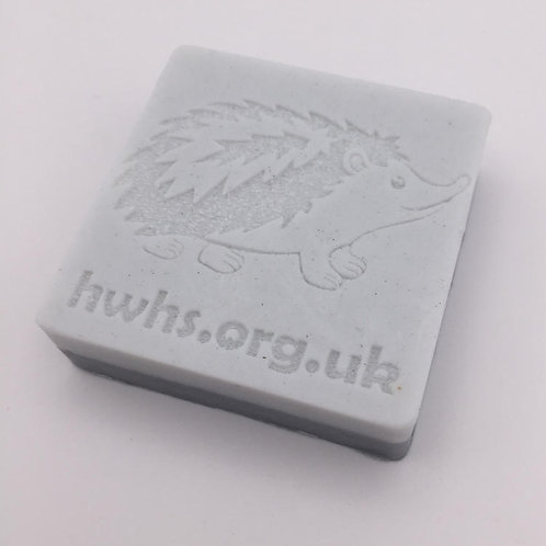 Hand Made Square Hedgehog Soap