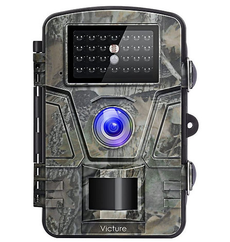 12MP Wildlife Trail Night Vision Camera Trap 1080P (inc Batteries + 32GB SDCARD)