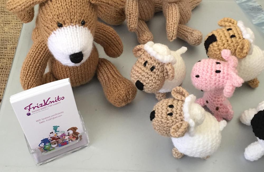 Frances's custom knits.