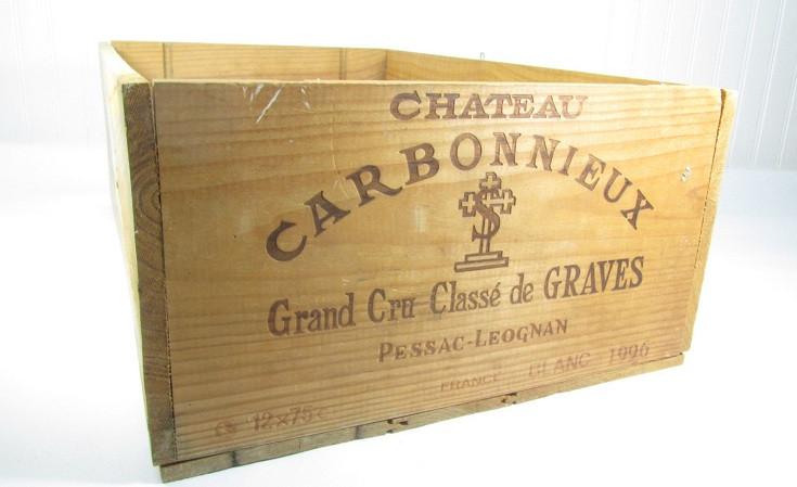 Old wine box
