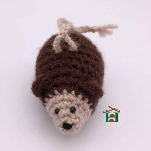Hedgehog Hand Knitted Cuddly Small
