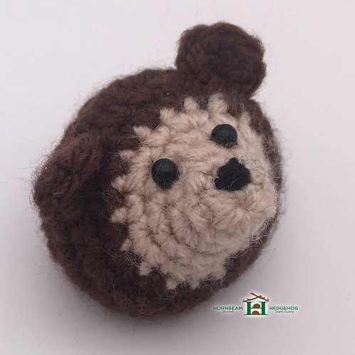Hedgehog Hand Knitted Cuddly Small Pin Broach